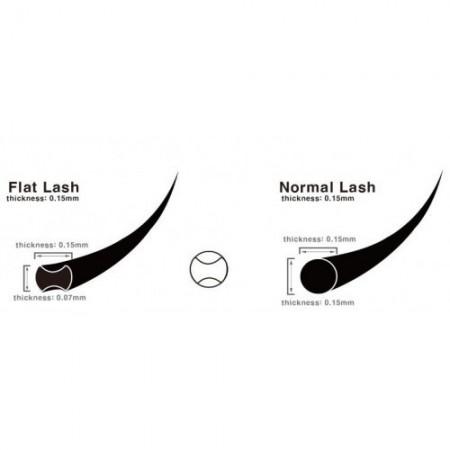 Flat Lash Ellipse